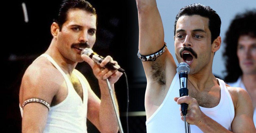 Freddie Mercury y Rami Malek